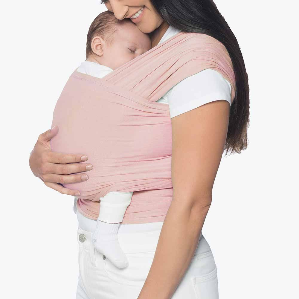 ergobaby aura baby wrap - Blush Pink