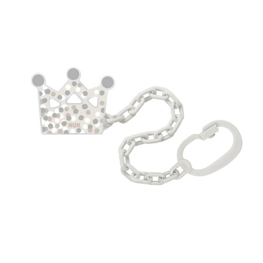 NUK Soother chain - crown