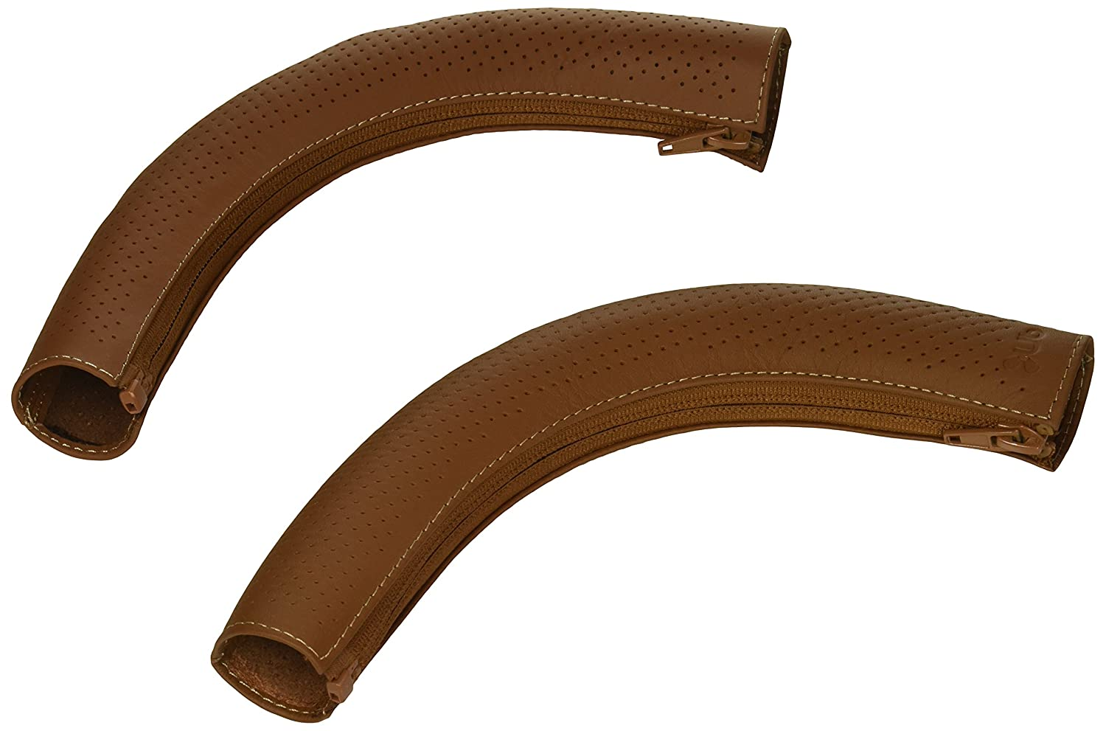 Leather Handlebar Cover CRUZ brown
