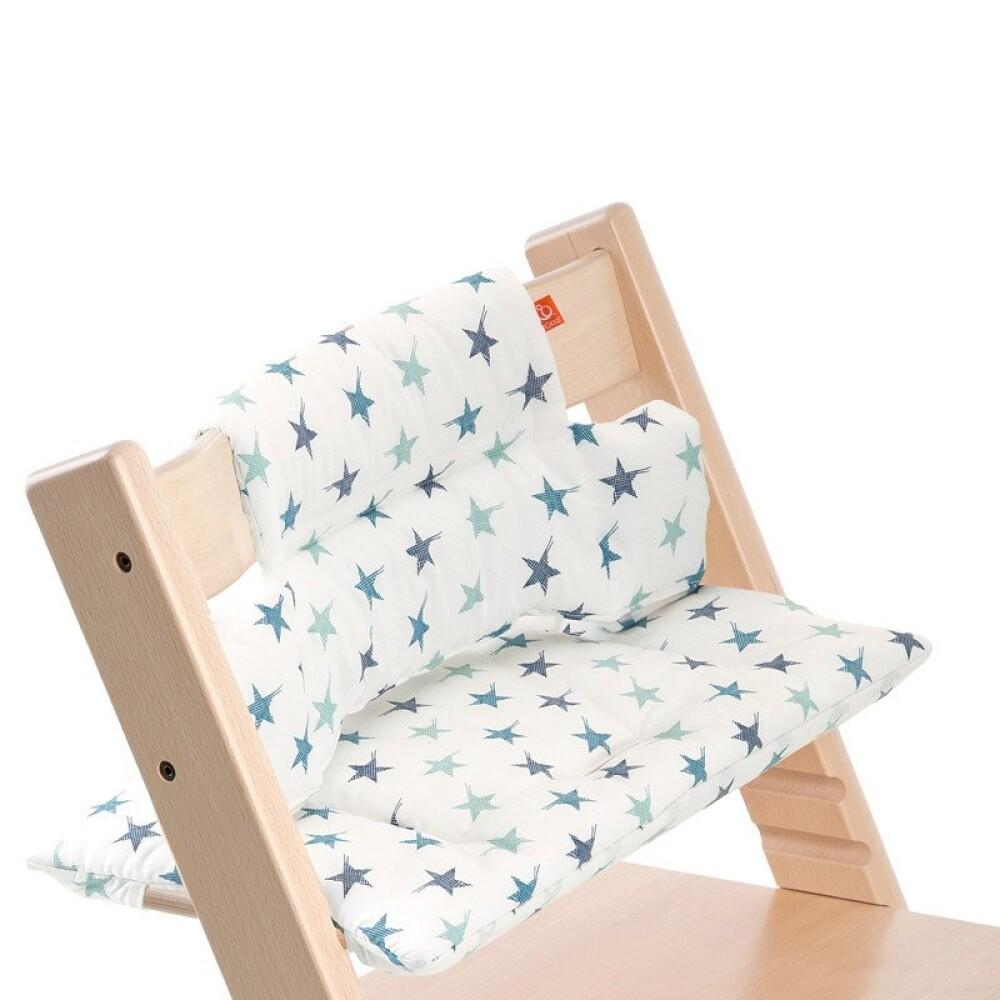 Stokke Classic cushion aqua star