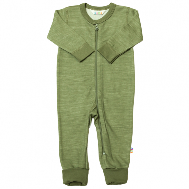 Jumpsuit w/2 in1 foot Ull/Bambus