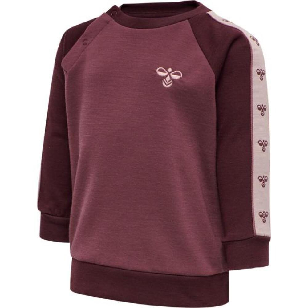 HMLWULBATO sweatshirt plum