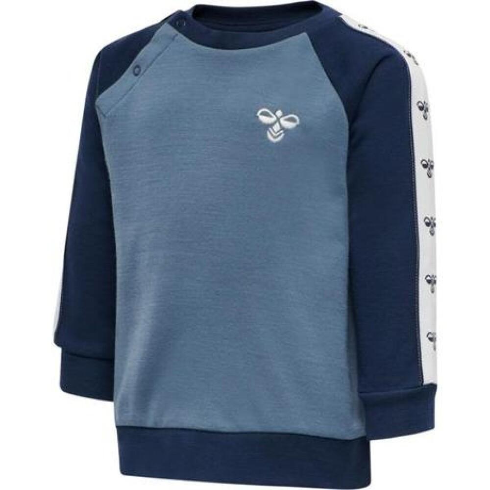 HMLWULBATO sweatshirt Blå