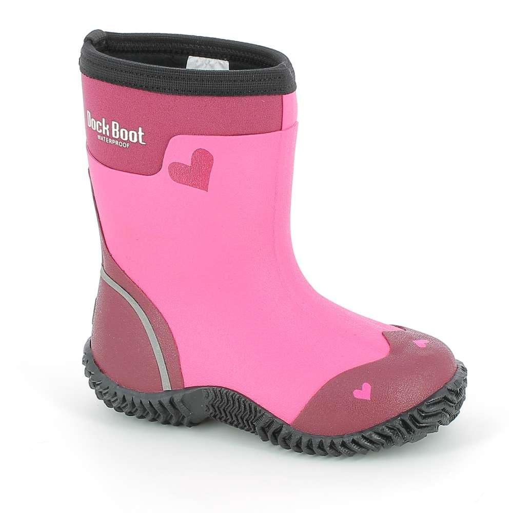 Dock Boots Isabella Lillac/Fuchsia