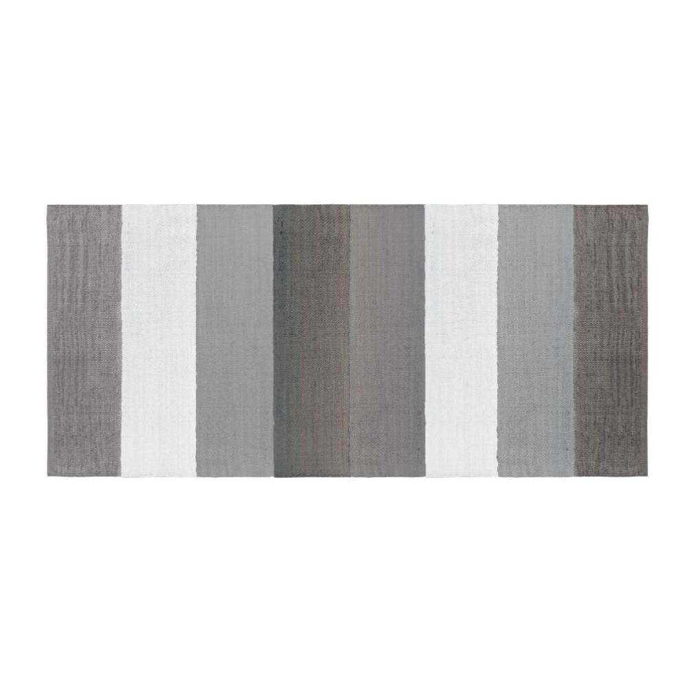SEBRA woven floor mat - 80x180 Grey