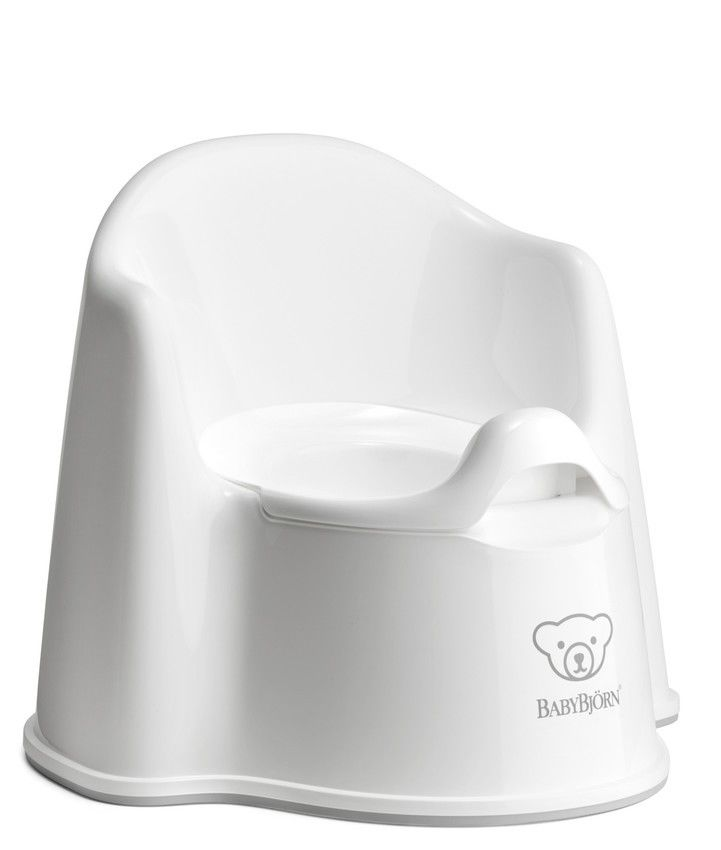Babybjørn potty chair - White