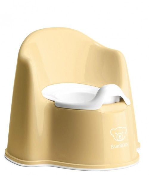 Babybjørn potty chair - Yellow