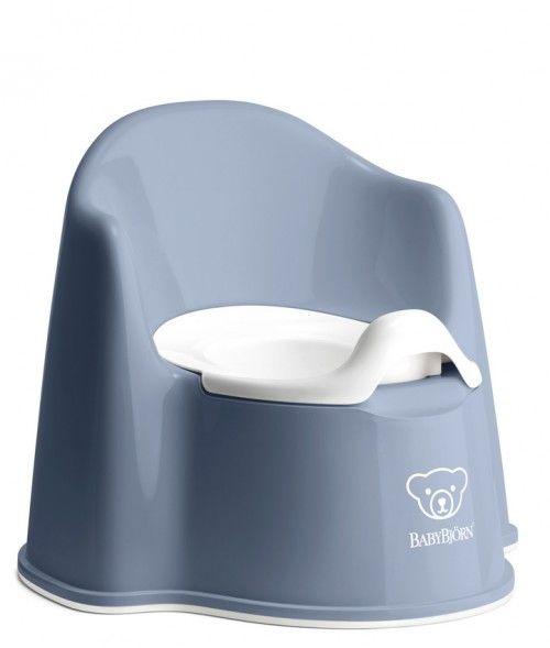 Babybjørn potty chair - deep blue/white