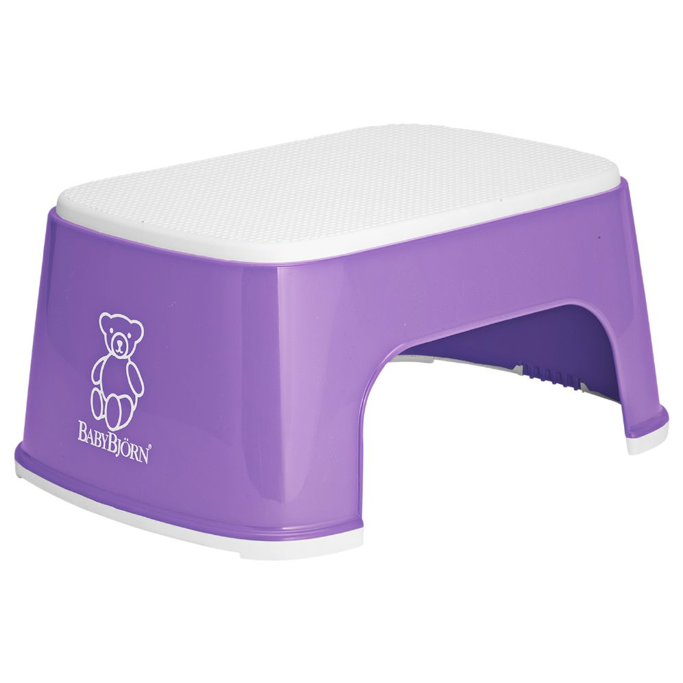 Babybjørn step stool - Purple