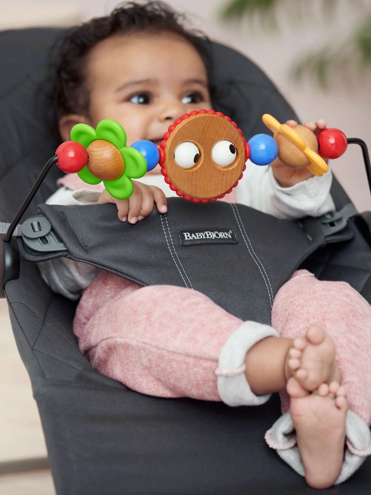 Babybjørn toy for bouncer - Googly Eyes