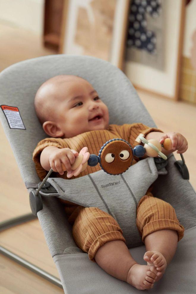 Babybjørn toy for bouncer - Googly Eyes Pas