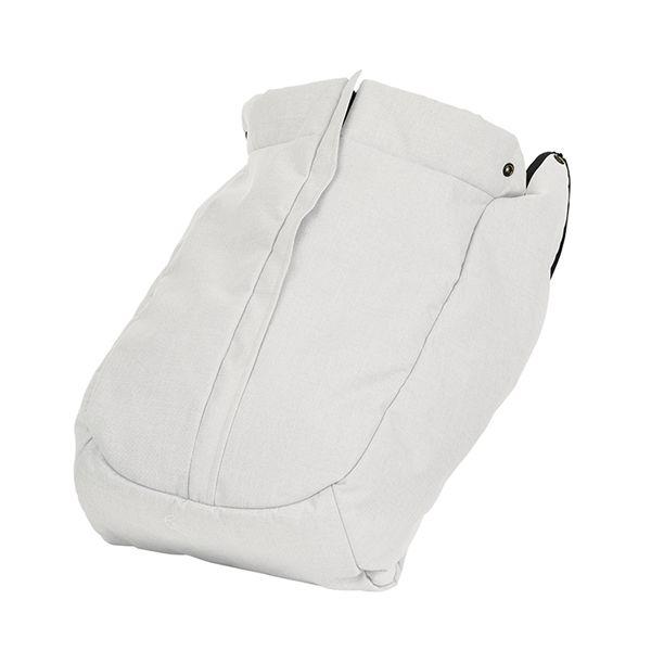 NXT fottrekk FLAT - White Leatheret